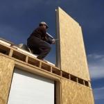 Этапы строительства дома из СИП панелей в Долане