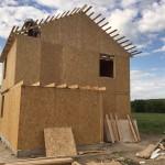 Строительство дома из SIP панелей в Алматинской области