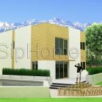 Проект дома «Нурлытау» 160 кв.м. из SIP панелей в Алматы и Каскелене