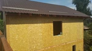 Фотоотчет с объекта в поселке Кооптехникум, г. Алматы дома из СИП панелей