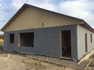 Строительство дома из СИП панелей в Акжаре