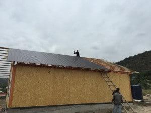 Этапы строительства дома из SIP панелей