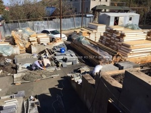 Строительство домов из сендвич панелей в Ремизовке, Алматы