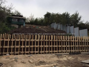 строительство 2-х домов из сендвич панелей в Ремизовке