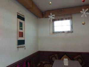 Внутренняя отделка кафе из СИП панелей