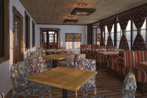 Строительство кафе из SIP панелей в Алматы