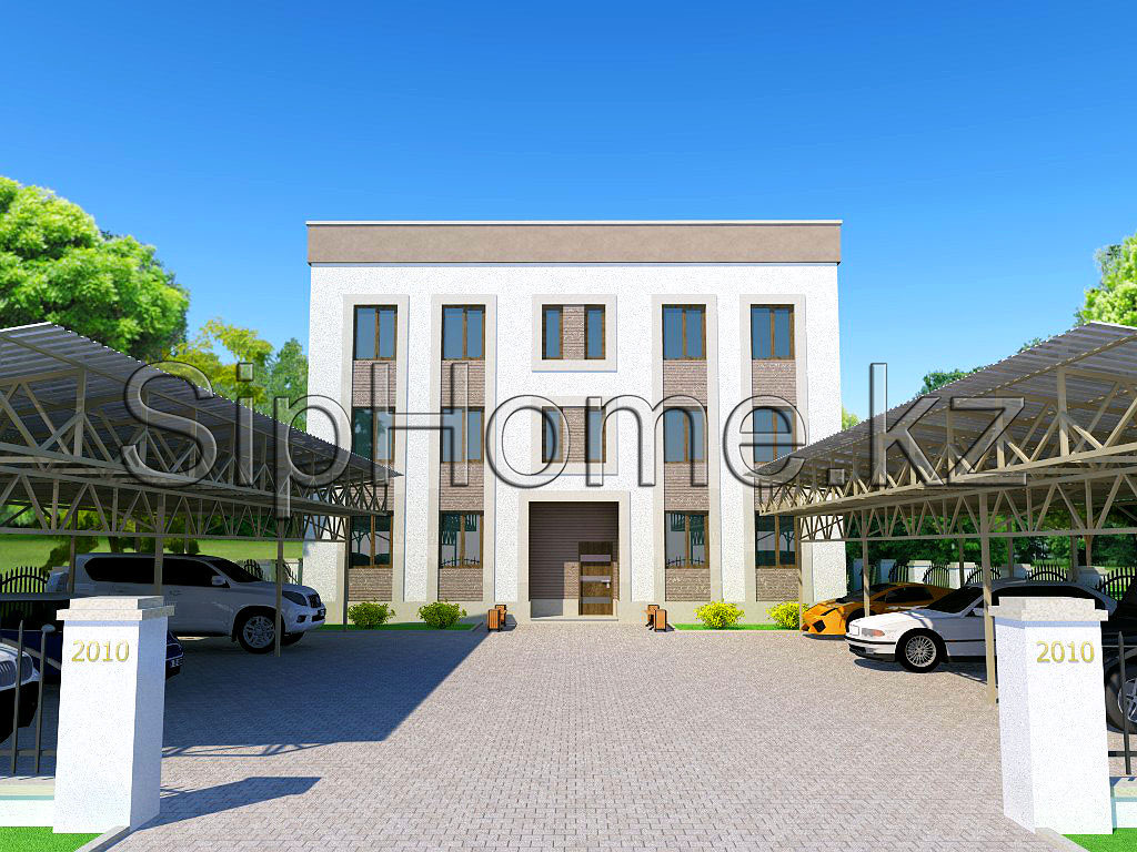 Инвестиционный проект Сидней 12-и квартирного дома 540 кв. м - 21 600 000 тенге