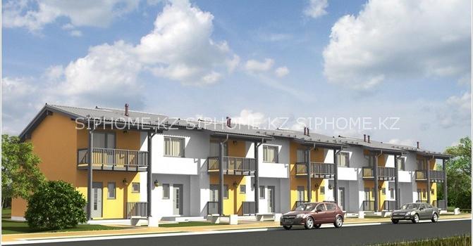 Проект многоквартирного дома «Манчестер» площадью 614 кв. м