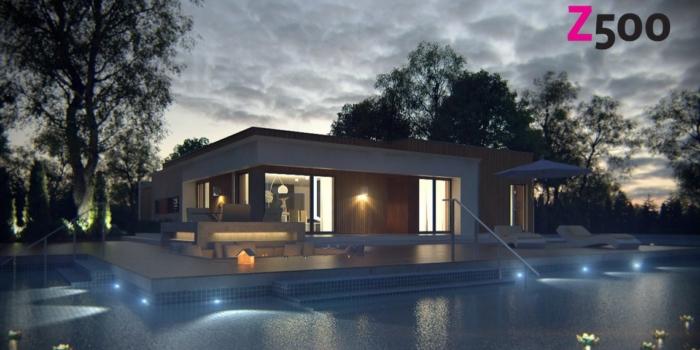 Проект дома «Алатау» в стиле хай-тек из сэндвич (СИП) панелей 250 кв. м — 12 613 424 тенге