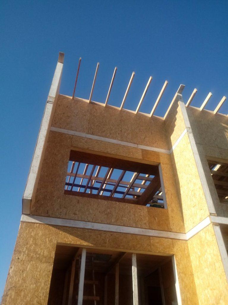 Строительство торгового дома из СИП панелей в Талдыкоргане