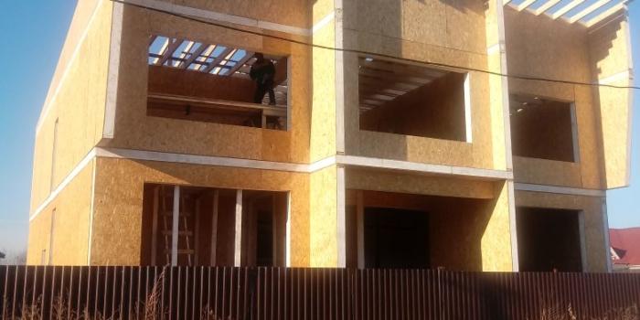 Строительство торгового дома из СИП панелей в Талдыкоргане [15.02.2018]