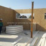 Строительство торгового дома из СИП панелей