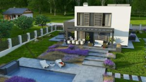 Проект дома Северал из СИП панелей площадью 340 кв. м