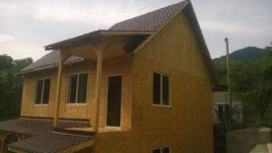 Строительство загородного дома из SIP панелей по улице Дулати
