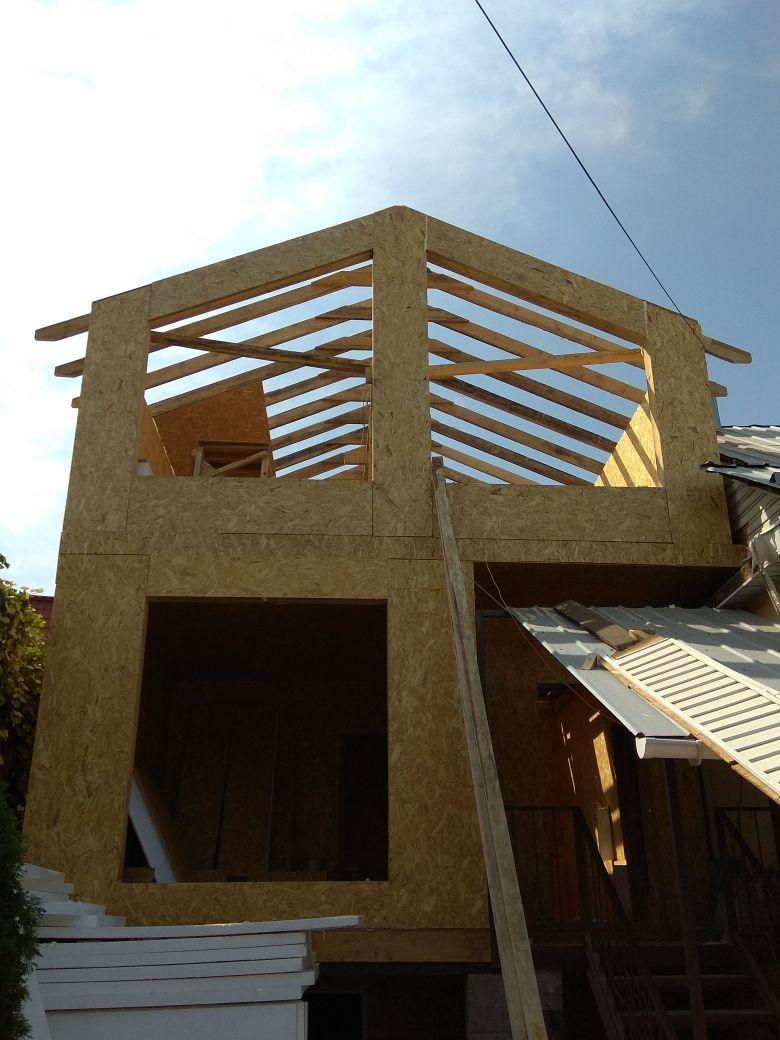 Строительство дома в Алматы на ул. Башкирского