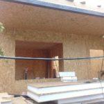 Строительство частного дома из СИП панелей в п. Бурундай