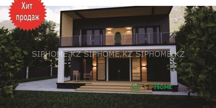 Уникальный проект для строительства дома «Райымбек» из СИП панелей — 7 678 318 тенге