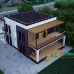 Уникальный проект Райымбек для строительства дома из СИП панелей