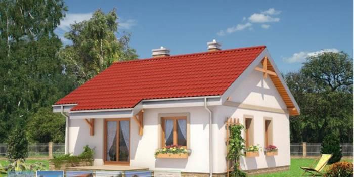 Проект «Альберта» 73,5 м2 для строительства дома из СИП панелей