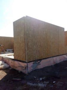 Строительство небольшого дома из СИП панелей