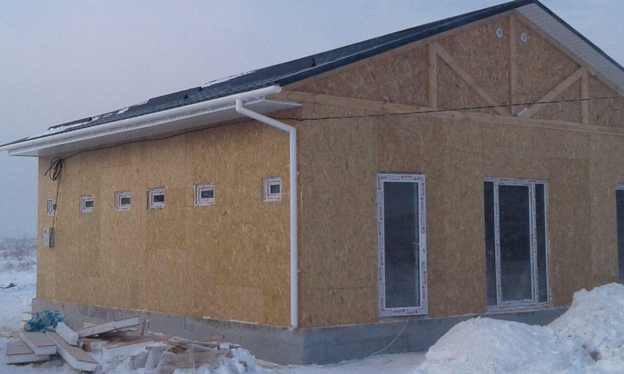 Строительство дома на два хозяина 79 м2 [2018]