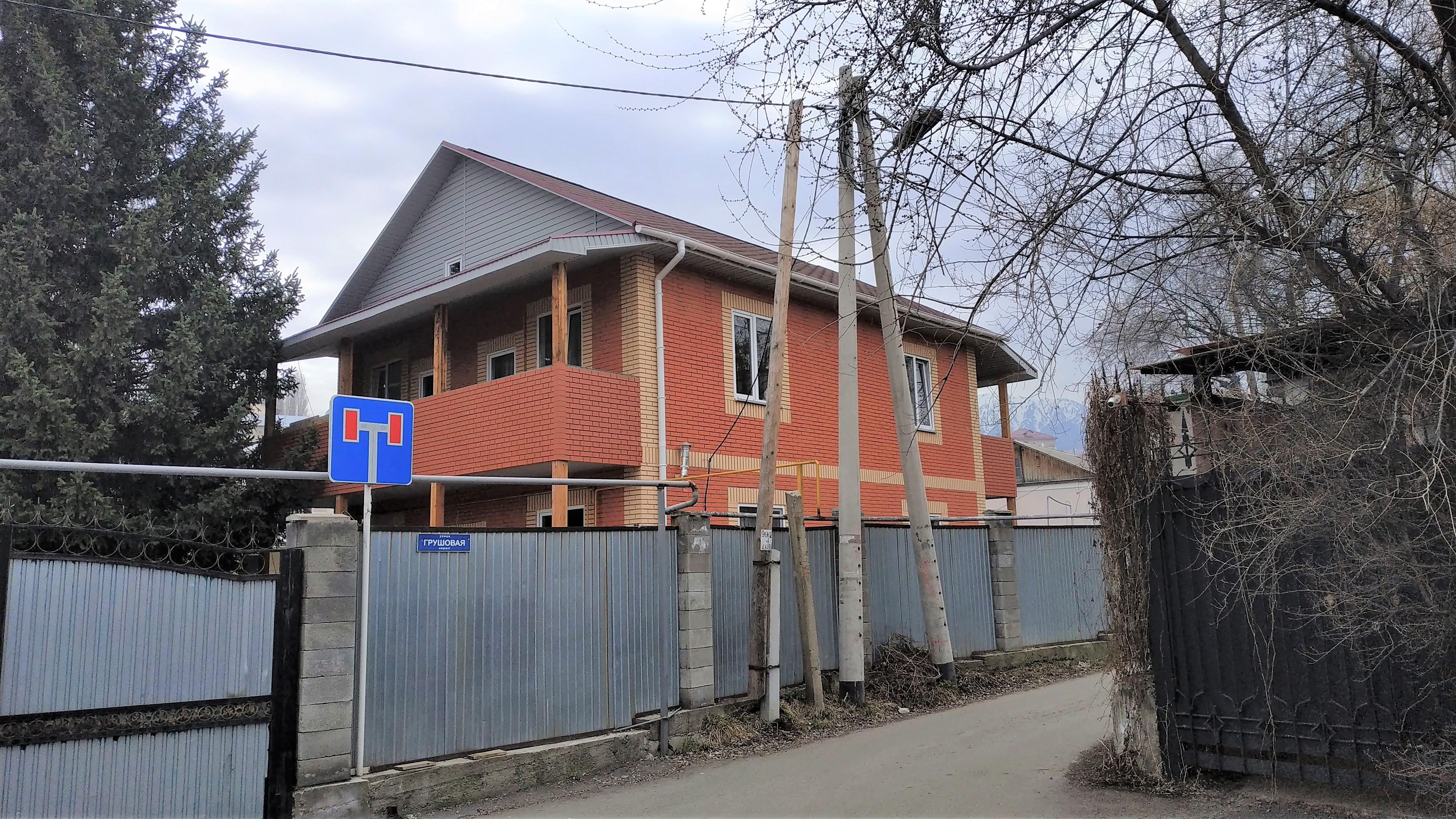 Строительство дома 180 м2 из СИП панелей в мкр-н Баганашыл [2018]