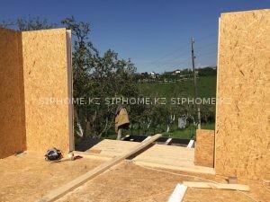 Строительство летнего домика в Карагайлы, Наурызбайском районе