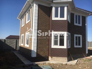 [2018] Строительство частного дома в Талгаре из СИП панелей