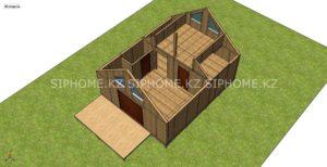 Проект дома из СИП панелей