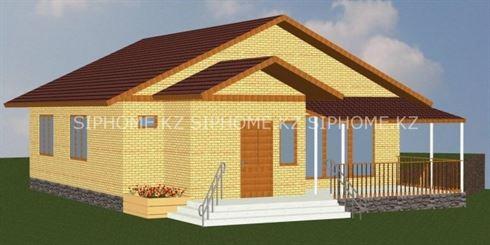 Строительство дома с цоколем из пеноблоков в Алматы