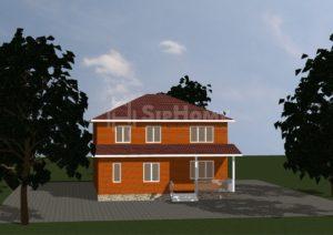 Проект строительства дома Крепость 216 м2 - 5 497 700 тенге