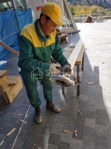 Строительство каркасной кофейни Алматы