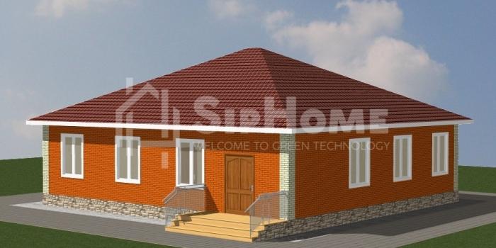 «Алматы» — дом из СИП-панелей, площадью 158,39 кв.м — 7 474 076 тенге