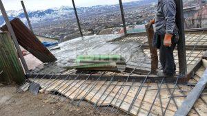 Строительство каркасного дома в Ремизовке на склоне горы, 216 кв.м