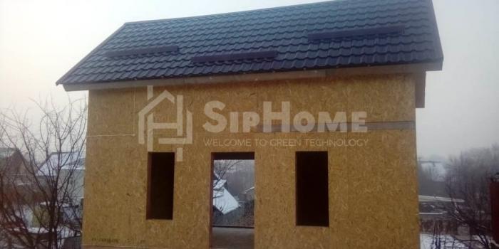 Строительство дачного домика из СИП-панелей площадью 43 кв.м в районе Олимпийской деревни