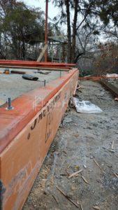 Строительство каркасной пристройки площадью 49 кв.м к существующему дому в Баганашыле
