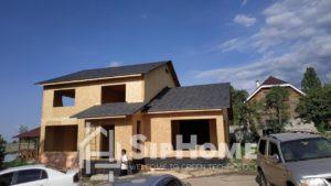 Начато строительство двухэтажного дома из СИП панелей площадью 278 м2