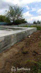 Начато строительство нового дома из СИП панелей в Талгаре