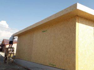 Строительство дома из СИП панелей в Жана Куат 86 м2
