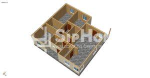 Строительство дома из сип панелей в поселке Жапек батыра (4)