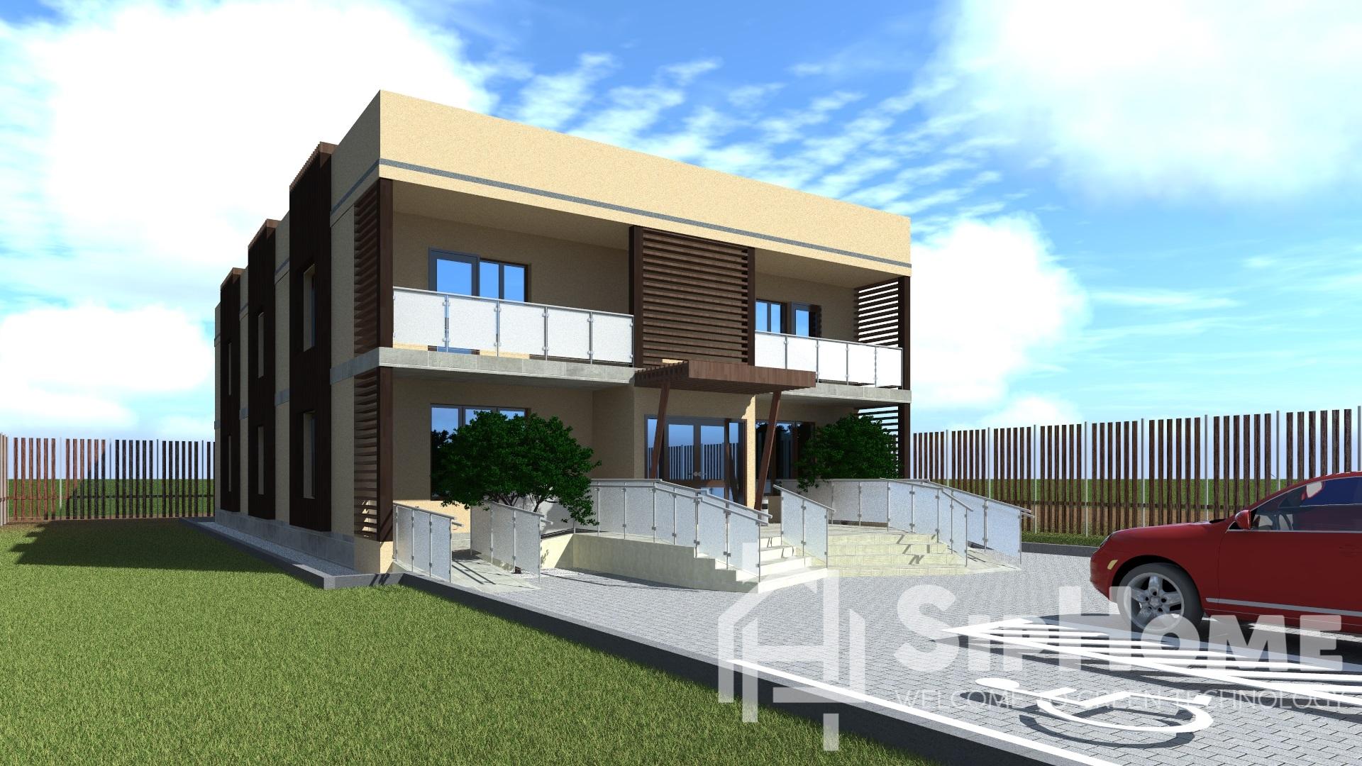 «Бриджес» — проект офисного здания на 481 квадратный метр — 23 123 610 тенге