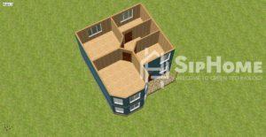 «Питтсбург» - проект дома 156,2 кв.м из SIP панелей - 3 243 925 тенге