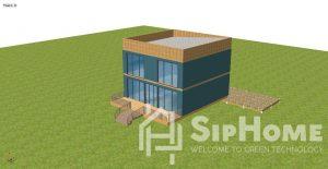 Строительство двухэтажного дома на 208 квадратных метров по каркасной технологии.(Объект СДАН!) (4)