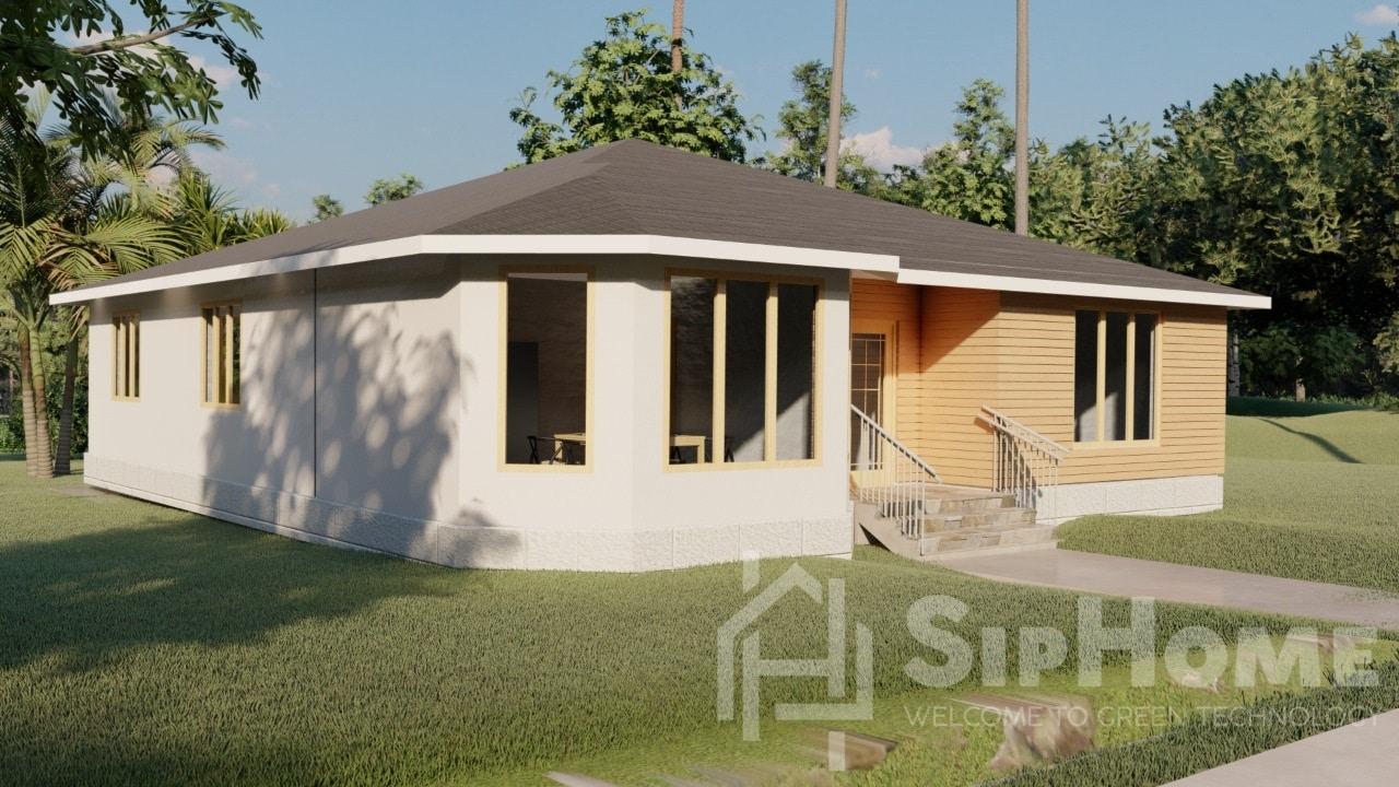 «Эвертон» - проект дома 165 кв.м из SIP панелей - 7789345 тенге (6)
