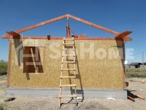 Строительство дома из СИП панелей в Бурундае 63м2 (9)