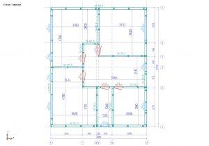 Доброго времени суток! Предлагаем Вам детальный фото отчет по строительству нашего очередного объекта. Объект был собран на свайном фундаменте. Итоговый вариант дома получился 100% дом - термос - Цокольное перекрытие из Сип панелей 220 мм, стены- сип панели 170 мм, чердачное перекрытие - сип панели 170 мм.