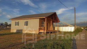 Строительство одноэтажного дома площадью 105 квадратных метров по каркасной технологии (объект СДАН) (1)