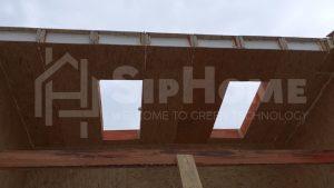 Строительство одноэтажного дома площадью 136 квадратных метров из СИП панелей (объект СДАН)