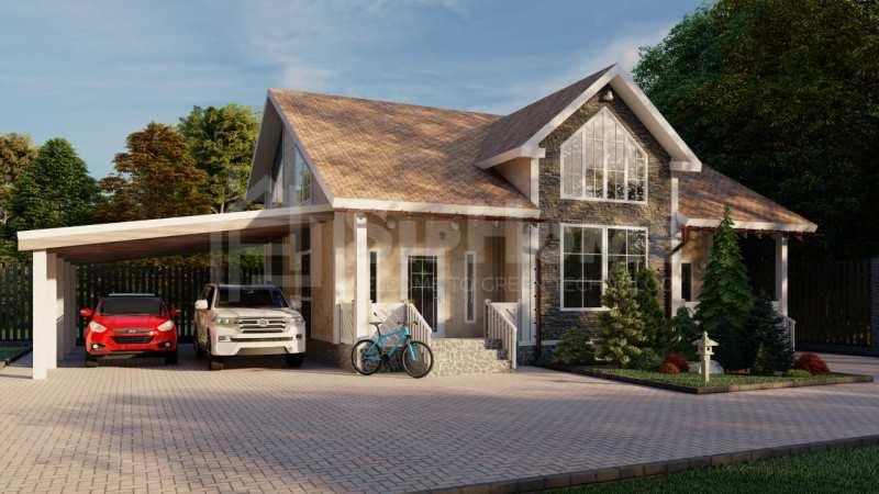 «Секвойя» - проект дома 209 кв.м из SIP панелей - 14358746 тенге (9)