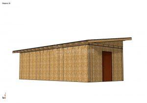Строительство здания на 36 квадратных метров из СИП панелей (Объект СДАН)